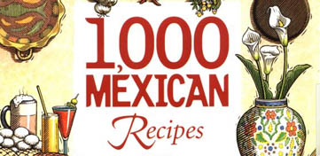Cover van 1.000 Mexican Recipes